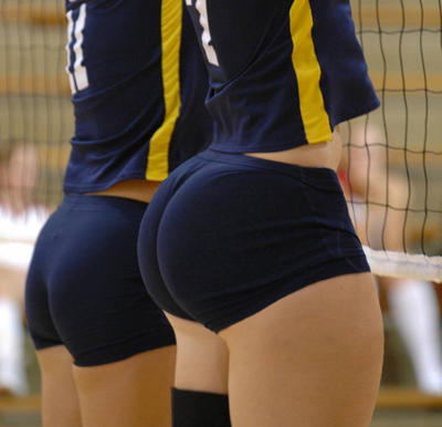 Volleyball Shorts Butts 96